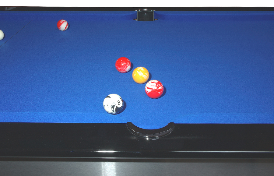 Minimalist home rules - Contemporary Ball Return Pool Tables