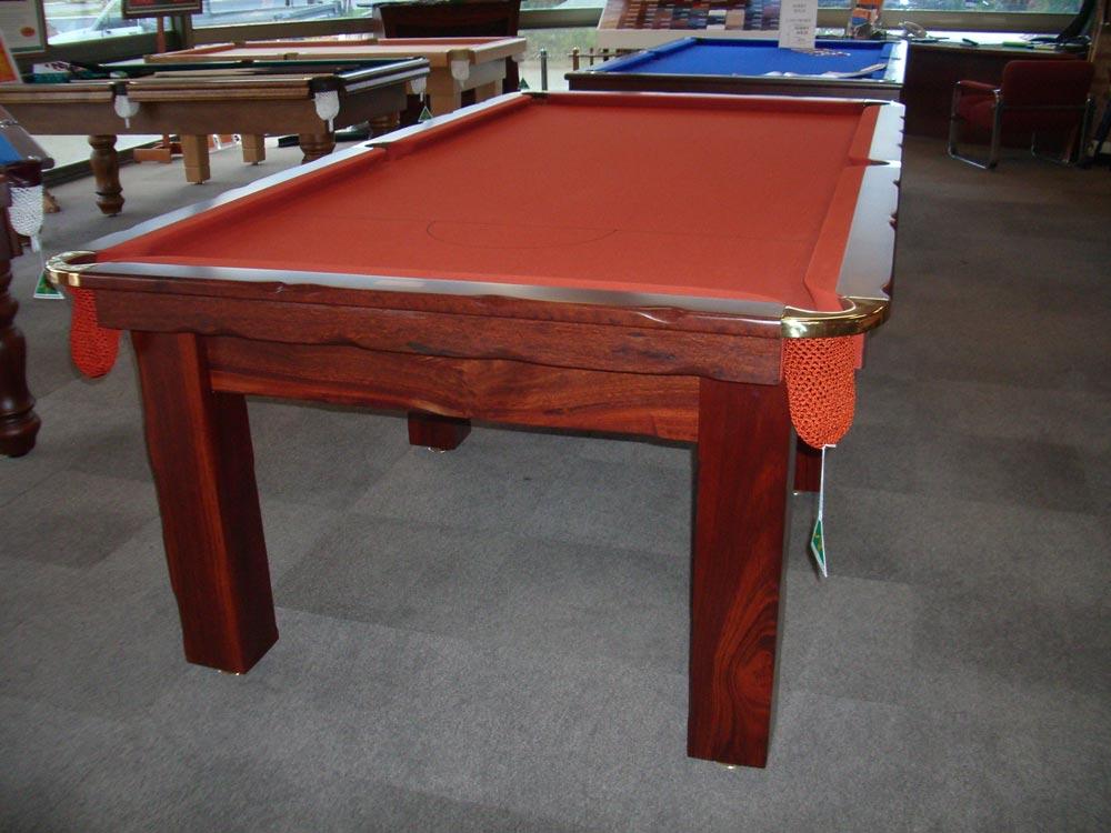Designer Wave Cross Quedos Pool Tables