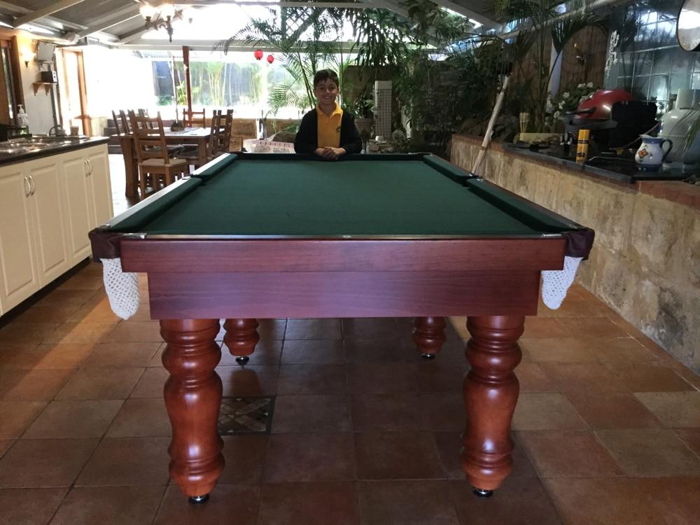 Lifestyle Standard Jarrah Quedos Pool Tables