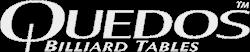 Quedos Logo Text Light