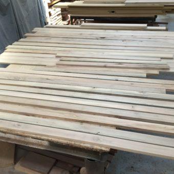 Fresh cuts of wood