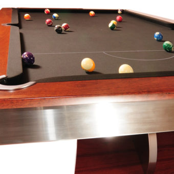 An outstanding pool table design