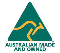 australian made owned full colour logo