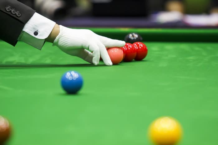 An image to couple with the history of snooker text.