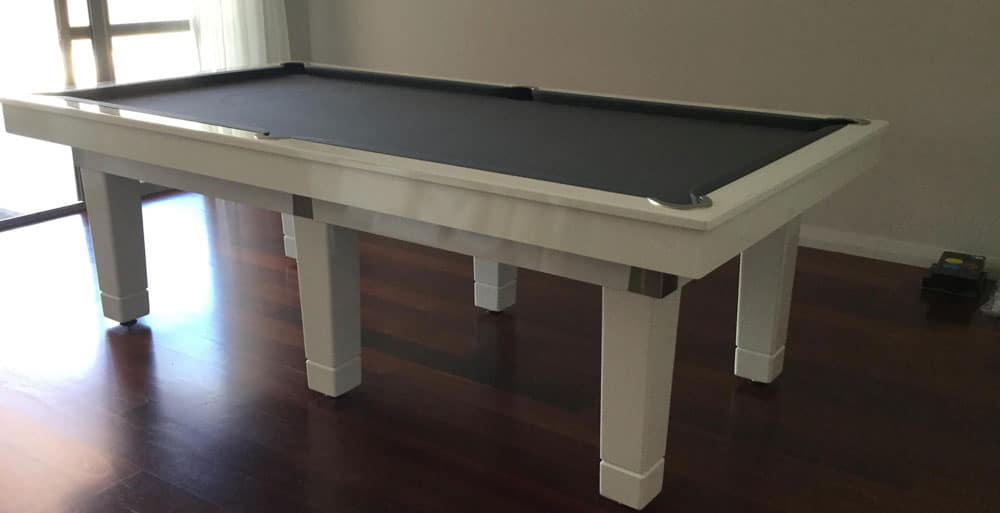 White finish Quedos table make to order