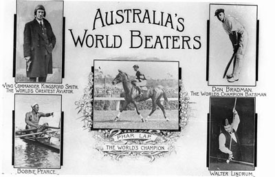 Records of some of Australia's best Athletes