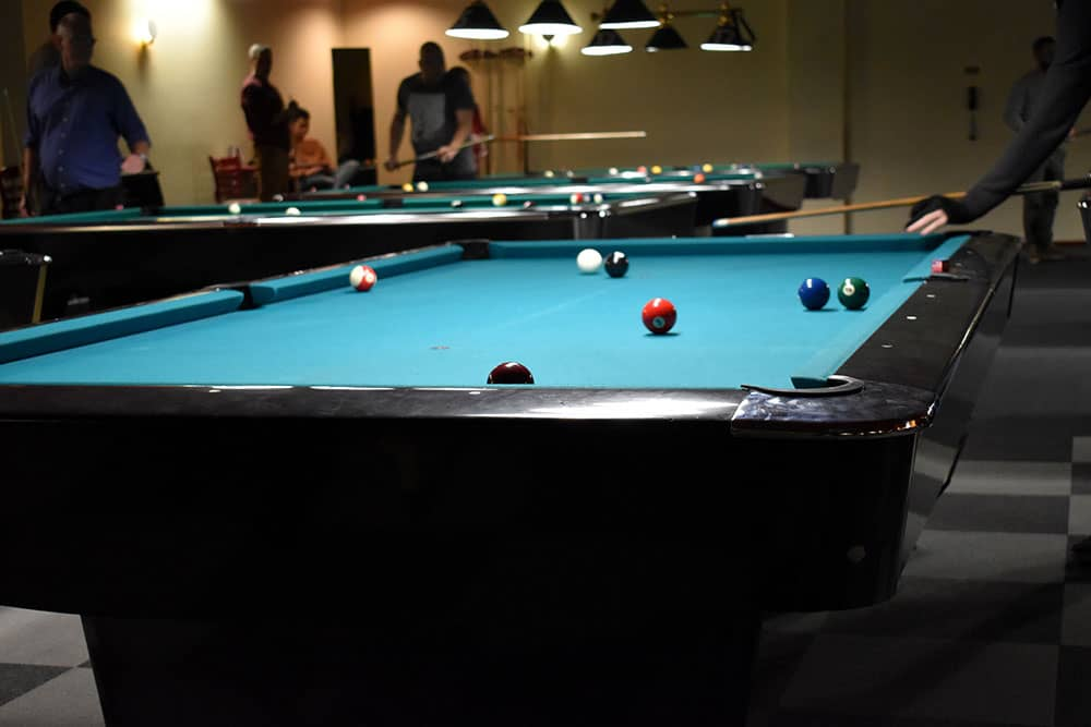 pool and billiard hall