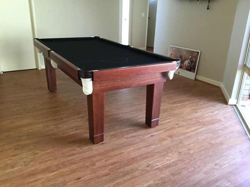Lifestyle standard jarrah Quedos pool tables